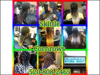 skittle cornrows