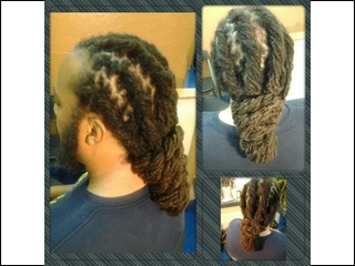 dread styled